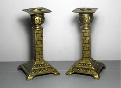 Antique William Tonks & Sons Brass by SukiandPolly on Etsy