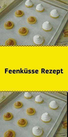Feenküsse Rezept - Fashion and Recipes Easy Cookie Recipes, Cupcake Recipes, Easy Dinner Recipes, Appetizer Recipes, Lemon Meringue Cheesecake, Cheesecake Recipes, No Bake Desserts, Delicious Desserts, Baking Courses