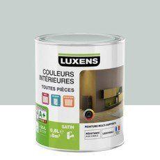 Pour Cuisine Peinture Bleu Baltique 6 LUXENS Couleurs Intérieures Satin 0.5  L
