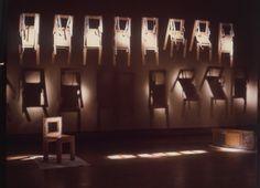 WEARABLE CHAIRS exhibition view 1971 by Gianni Pettena. #erastudioapartmentgallery #erastudio #giannipettena #chair #wearable #radical #radicaldesign #radicalmovement #design #interiors #interiordesign #artdesign #designgallery #apartmentgallery #artcollector #italiandesign #historicaldesign #interiorstyling #artdealers #collectibledesign #collectible #arte #gallery #vscodesign #vscoart #milan #italy