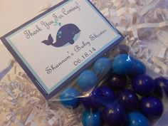 whale baby shower favors | Whale Party Favors Whale Baby Shower Favor by TheSweetRevenge