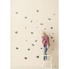 Ferm Living Mini Butterflies Wall Sticker - fawn&forest