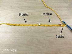 Crochet Granny Ripple Tutorial - Free Crochet Pattern by Just Be Crafty Granny Square Crochet Pattern, Crochet Stitches Patterns, Crochet Granny, Quick Crochet, Free Crochet, Knit Crochet, Crochet Ripple Blanket, Crochet Mask, Step Guide