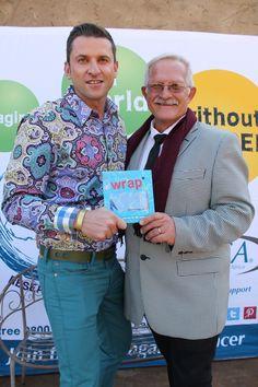 Eddy Rust and Cancer Association of South Africa's Munnik Marais.