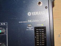 Mixer YAMAHA MG166C USB 20 ingressi