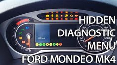 #Ford #Mondeo MK4 hidden diagnostic menu with needle sweep, LCD test, DTC readout and more useful features.