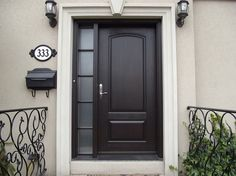 metal entry doors with sidelights fit in any house exterior