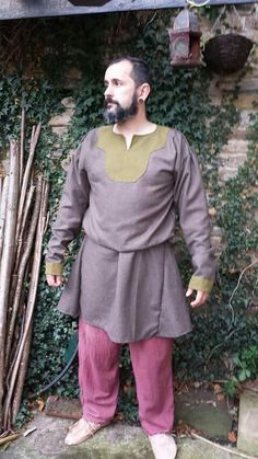 Bayeux tapestry inspired tunic