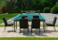 Salon de jardin FUNDY vert anis avec parasol offert | Petite ...