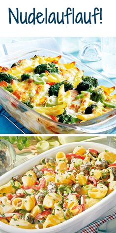 Inspiration für einen Nudelauflauf gesucht? Hier gibt's die besten Rezepte: http://www.bildderfrau.de/rezepte/nudelauflauf-d39197.html  #nudeln #Pasta #auflauf
