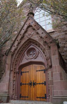 St. Mary's Church, where JFK and Jackie got married. Newport, Rhode Island. USA.