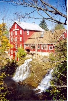 Clifton Mill...Yellow Springs, Ohio. I went to school in Yellow Springs, glorious.