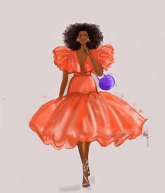 September vibe Afro Art, Snow White, Natural Hair Styles, Disney Princess, Disney Characters, Sleeping Beauty, Disney Princes, Disney Princesses, Black Art