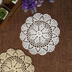 Crochet doily lace crochet decor coaster elegant doilies Home Wedding - Set of 6 #Handmade