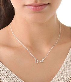 Gorjana Sideway Key Necklace <3
