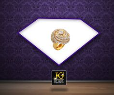 Redefine style and give your outfit a contemporary twist with this artistic #ring from our collection. #JetGems #Exclusive #Gorgeous #Gold #Ring