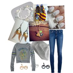 """""""My Harry Potter Outfit ;)"""" by shanicelupin on Polyvore"""