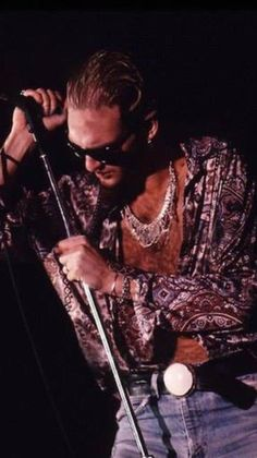 Layne Staley. The man was straight up captivating.