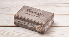 Anello di nozze anello portatore scatola anello scatola anello
