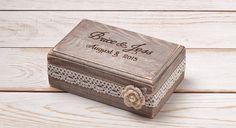 Ehering Box Ring Bearer Box Ring Box Ring von InesesWeddingGallery