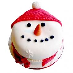 Snowman Christmas Cake In Jalandhar1450 Online Delivery