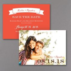 Big Date - Photo Save the Date Card | Carlson Craft Wedding & Stationery Products