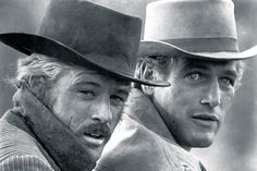 Robert Redford & Paul Newman. Butch Cassidy and the Sundance Kid.
