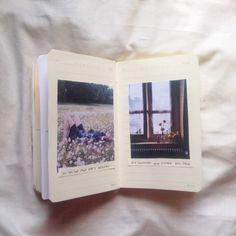 "deshanoir: ""new pages of my journal / IG : lov.noir """
