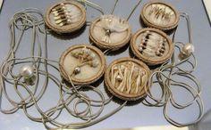 Galit Einav necklace for FiloRosso 2015 (detail) Jewelry Art, Jewelry Ideas, Jewelry Necklaces, Jewelry Design, Jewellery, Israeli Jewelry, Found Object Jewelry, Heavy And Light, Slovenia