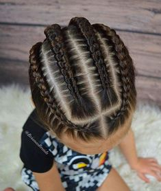 Some Nice Kids Hairstyle That You Can Try on Your Kids (Trends on Braids for kids is one of the most simple yet effective hairstyles you can administer for African American children. Help seal in the moisture the easy way. Boy Braids Hairstyles, Baby Girl Hairstyles, Easy Hairstyles, Kids Hairstyle, Black Hairstyles, Teenage Hairstyles, Braided Hairstyles For Kids, Children Hairstyles, Toddler Hairstyles