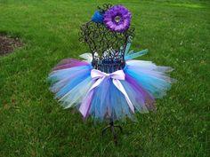 Mermaid Costume Blue Fairy tutu Purple Fairy by TheSugaredRibbon