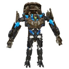 Transformers Age of Extinction Flip and Change Lockdown Figure converts from robot mode to sports car mode and back