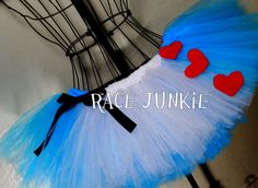 Alice in Wonderland Running Tutu ( 9 inch tutu) on Etsy, $34.95