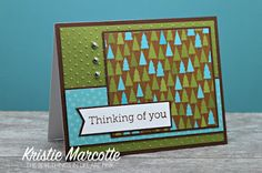 The best things in life are Pink.: Doodlebug's Happy Camper 6x6 cards