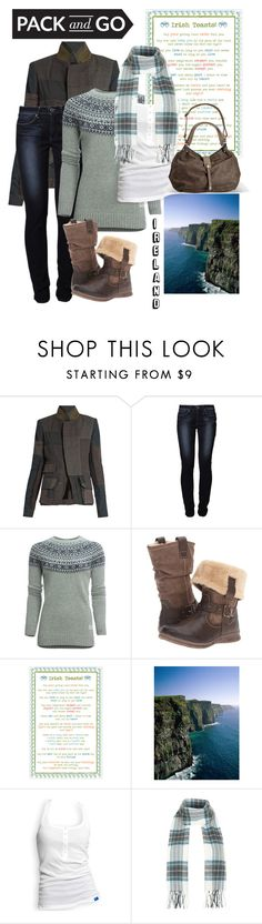 """""""Ireland"""" by jdee77 ❤ liked on Polyvore featuring Haider Ackermann, Levi's, Penfield, Spring Step, Ulster Weavers, adidas, Topshop and Avenue"""