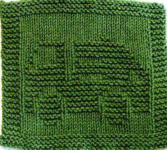 Knitting Cloth Pattern GARBAGE TRUCK PDF by ezcareknits on Etsy, $2.85