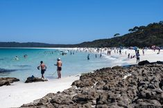 Hyams Beach Holds The Guinness World Record For The Whitest Sand On Earth