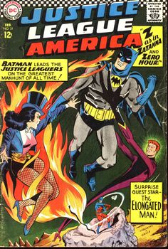 Justice League Of America #51, February 1961, cover by Mike Sekowsky and Joe Giella