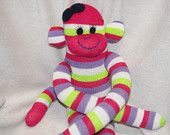 Sock Monkey - $18