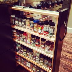 Spice rack – fancy and functional. Exactly Rebecca Klemke's style with everything that is RK Kitchen, Food & Fashion!