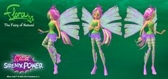 Winx Sirenix Power UPDATE with 3D Flora OUT NOW www.playwinxclub.com