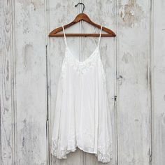 The Linden Layering Tunic in Snow, Sweet Lace Tunics
