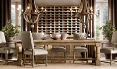 this wine storage idea is amazing - can i do this as a built in on either side of my doorway in the dining room...??