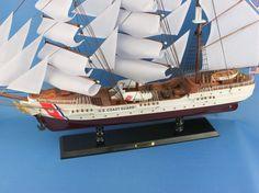 USCG Eagle COAST GUARD | Nautical decor | Yacht models | Nautical themes | Handcrafted Ship Models