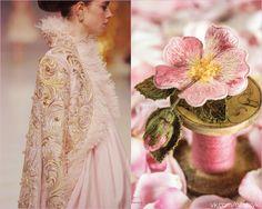 """""""Судите о своем здоровье по тому, как вы радуетесь утру и весне"""" Г.Торо  #pv_citaty #вышивка #вышивание #рукоделие #цитаты #подборки #красота #цветы #мода #женщина #розовый #весна #шиповник"""