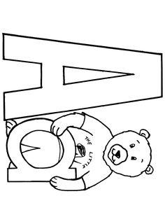 Desene de colorat Scrie Litera A - Planse de colorat cu LITERA A