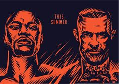 Poster for a fight. on Behance