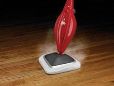 Dirt Devil Steamer- This is the best gift ever.  I use it on my hard wood floors, vinyl flooring and ceramic tiles.  It cleans great! Harder to push on the wood floors but it does an awesome job of cleaning and it comes with 2 washable pads.