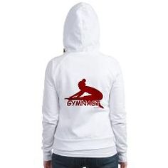 Gymnastics Hoodie... Get this and other great Gymnastics Apparel and Gifts at www.GymnasticsTees.com