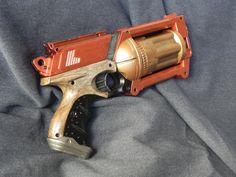 Maverick crosse bois Steampunk Gun, Nerf, Guns, Weapons Guns, Pistols, Revolvers, Sniper Rifles, Weapons, Firearms